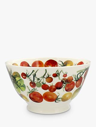 Emma Bridgewater Vegetable Garden Tomatoes Medium Bowl, 16cm, Red/Multi
