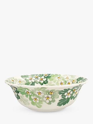 Emma Bridgewater Hawthorn Cereal Bowl, 17cm, Green/Multi