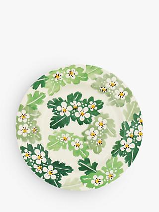 Emma Bridgewater Hawthorn Side Plate, 16cm, Green/Multi