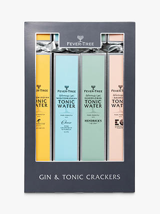 Buy Fevertree Gin & Tonic Christmas Crackers, x4 Online at johnlewis.com