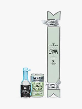 Fevertree Tarquin's Dry Gin and Cucumber Tonic Water Cracker, 5cl & 150ml