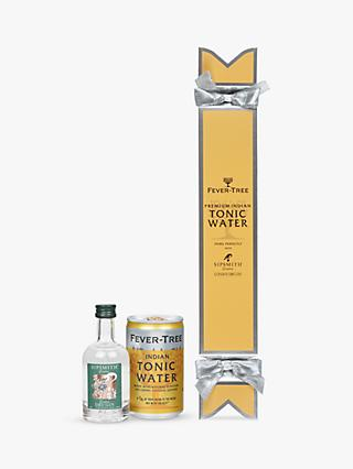 Fevertree Sipsmith Gin and Indian Tonic Water Cracker, 5cl & 150ml