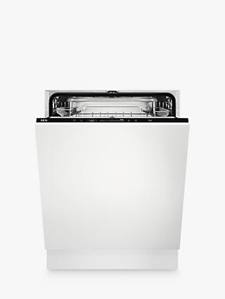 AEG FSS53627Z Integrated Dishwasher, A+++ Energy Rating, White