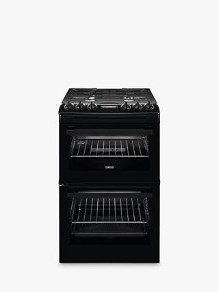 Zanussi ZCG43250WA Freestanding Gas Cooker, A Energy Rating