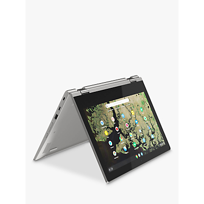Image of Lenovo Chromebook C340-11 1TA000BUK Chromebook, Intel Celeron, 4G RAM, 32GB eMMC, 11.6, Platinum Grey