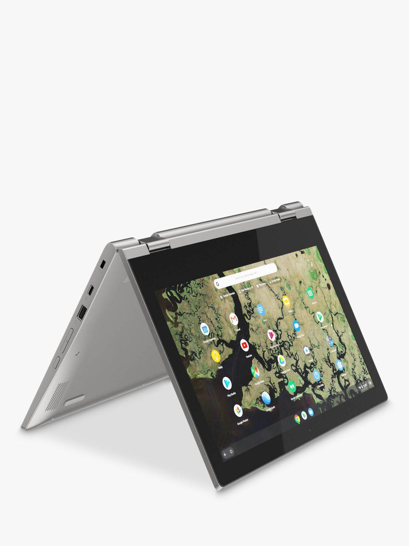 Lenovo Lenovo Chromebook C340-11 1TA000BUK Chromebook, Intel Celeron, 4G RAM, 32GB eMMC, 11.6, Platinum Grey