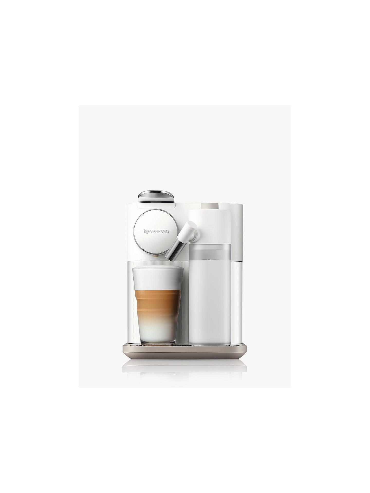 Buy Nespresso EN650 Gran Lattissima Capsule Coffee Machine by De'Longhi, White Online at johnlewis.com