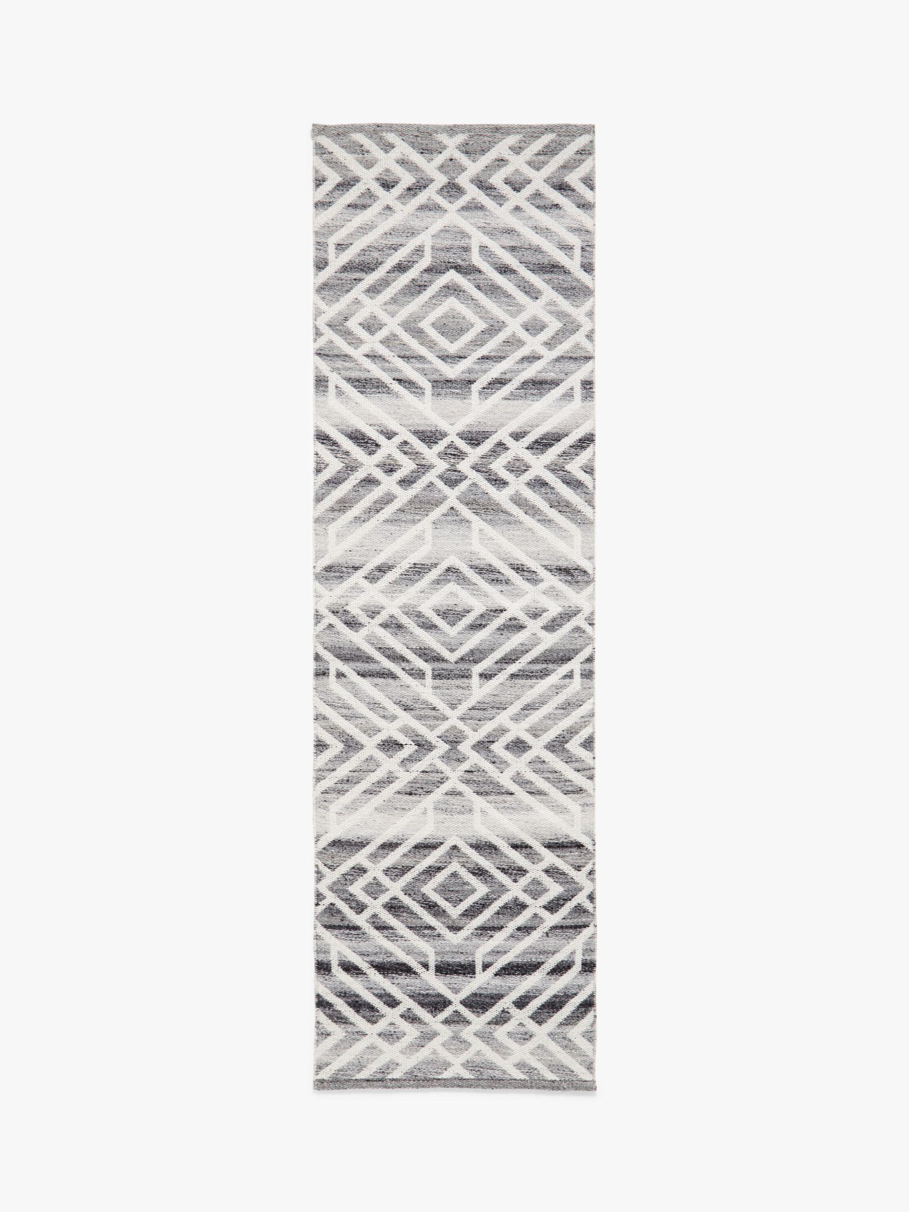 John Lewis & Partners Aztec Indoor & Outdoor Runner Rug, L240 x W70 cm