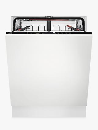 AEG FSS63607P Fully Integrated Dishwasher, A+++ Energy Rating, White