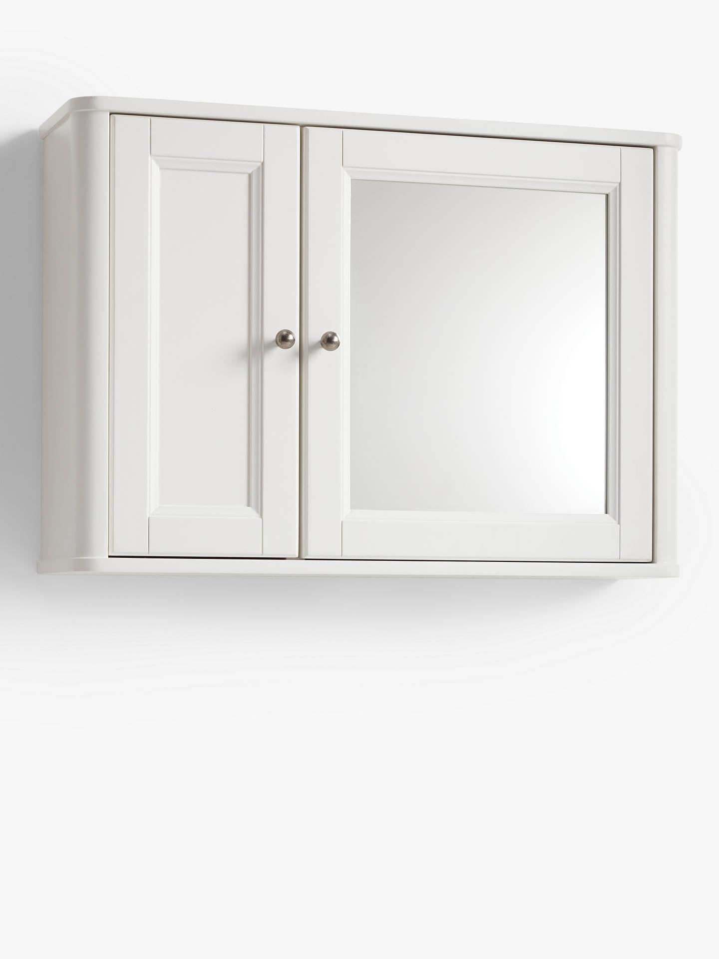 John Lewis Partners Portsman Double Bathroom Wall Cabinet At John Lewis Partners