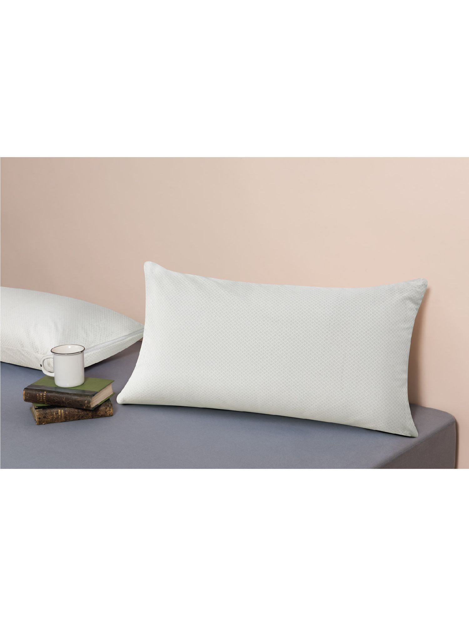 Velfont Thermo-Regulator Synthetic Standard Pillow, Medium/Firm
