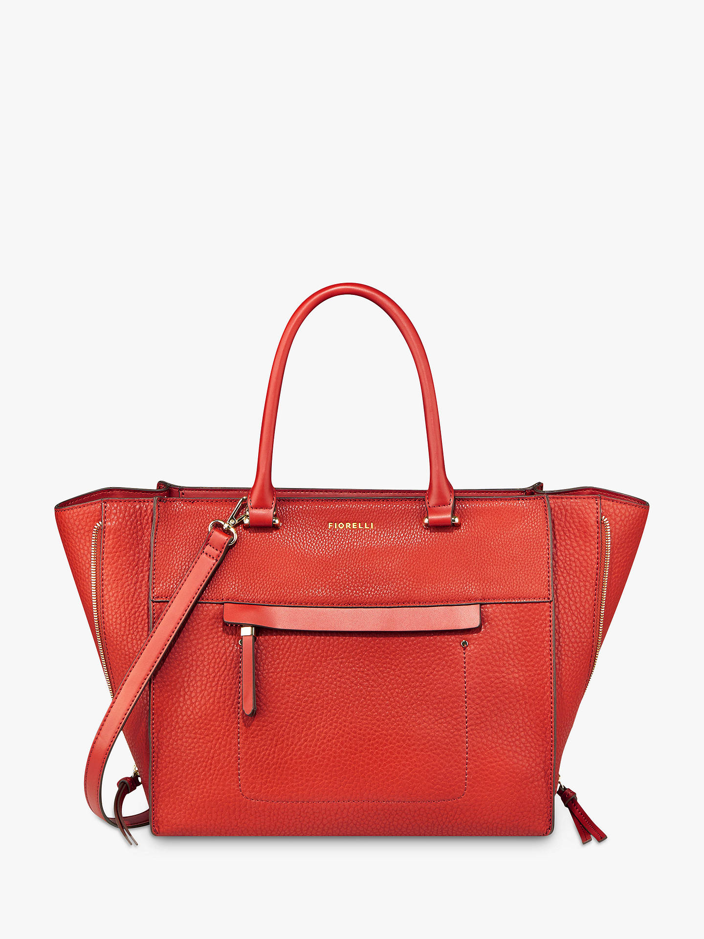 Buy Fiorelli Anna Tote Bag, Spice Online at johnlewis.com