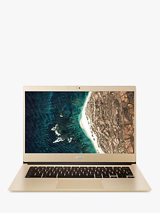 "Acer Chromebook 14 CB514- SV Laptop, Intel Celeron Processor, 4GB RAM, 64GB eMMC, 14"" Full HD, Gold"