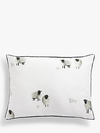 John Lewis & Partners Sheep Cushion, Multi