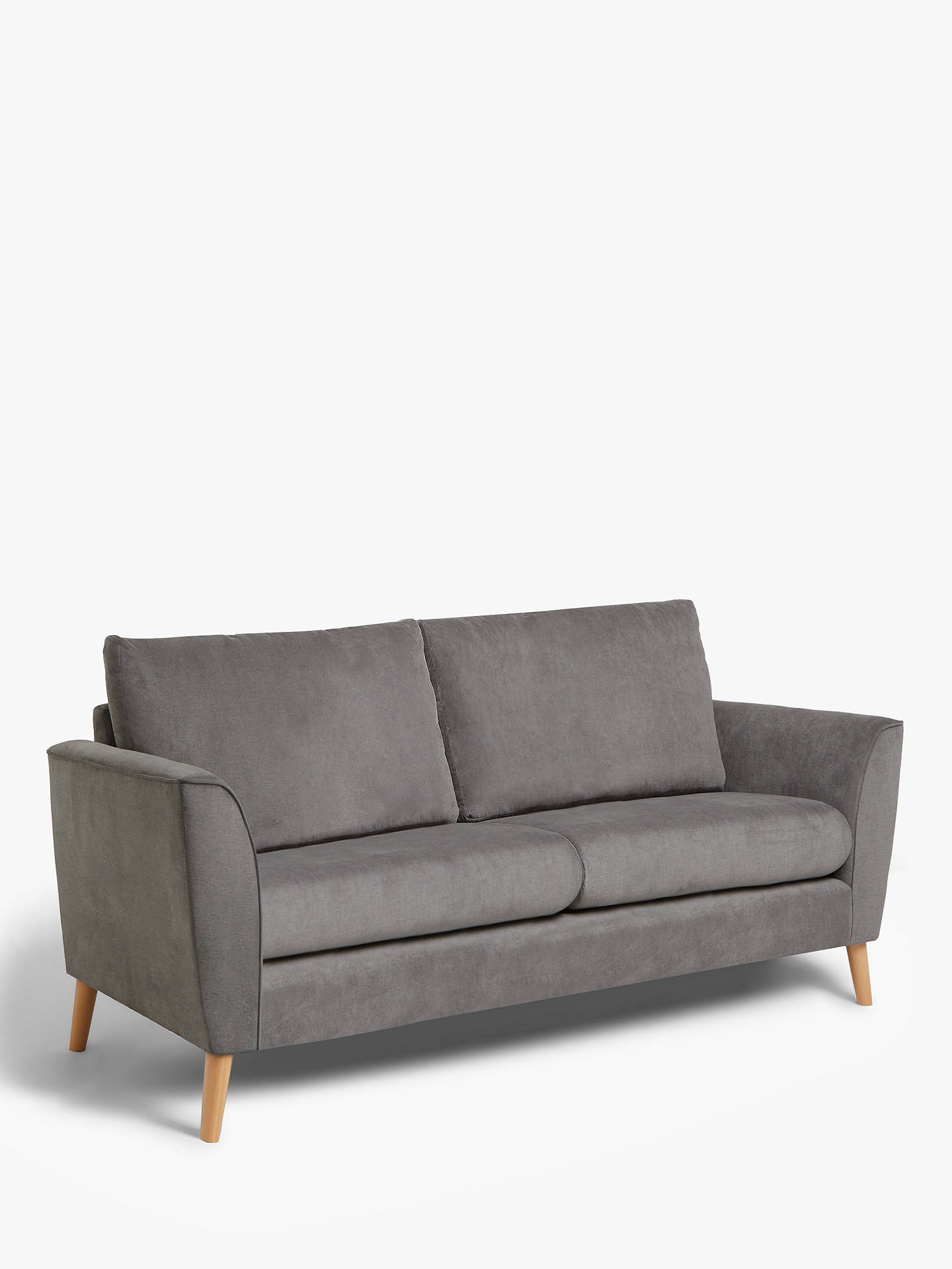 Flare Small 2 Seater Sofa Light Leg