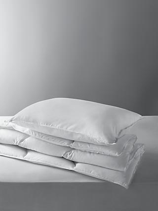 little home at John Lewis Soft Touch Washable Single Duvet and Pillow Set, 7 Tog