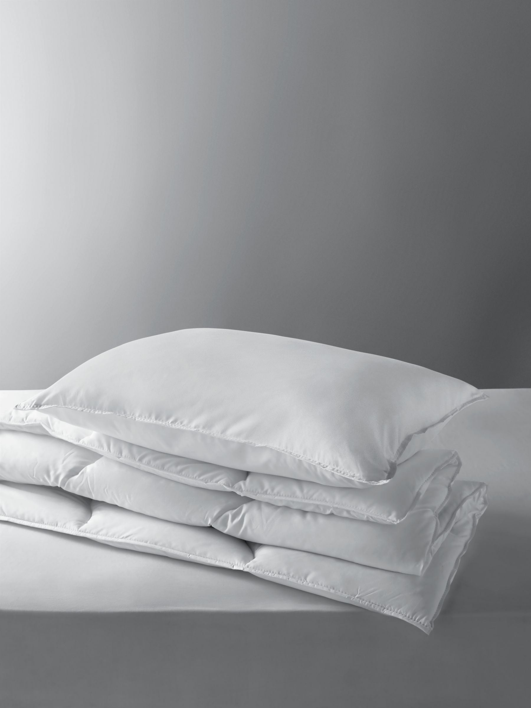 little home at John Lewis Children's Soft Touch Washable Single Duvet and Pillow Set, 7 Tog