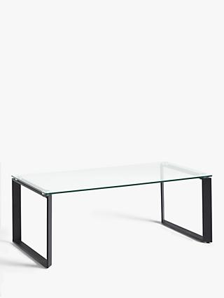 Black Glass Coffee Tables John Lewis Partners