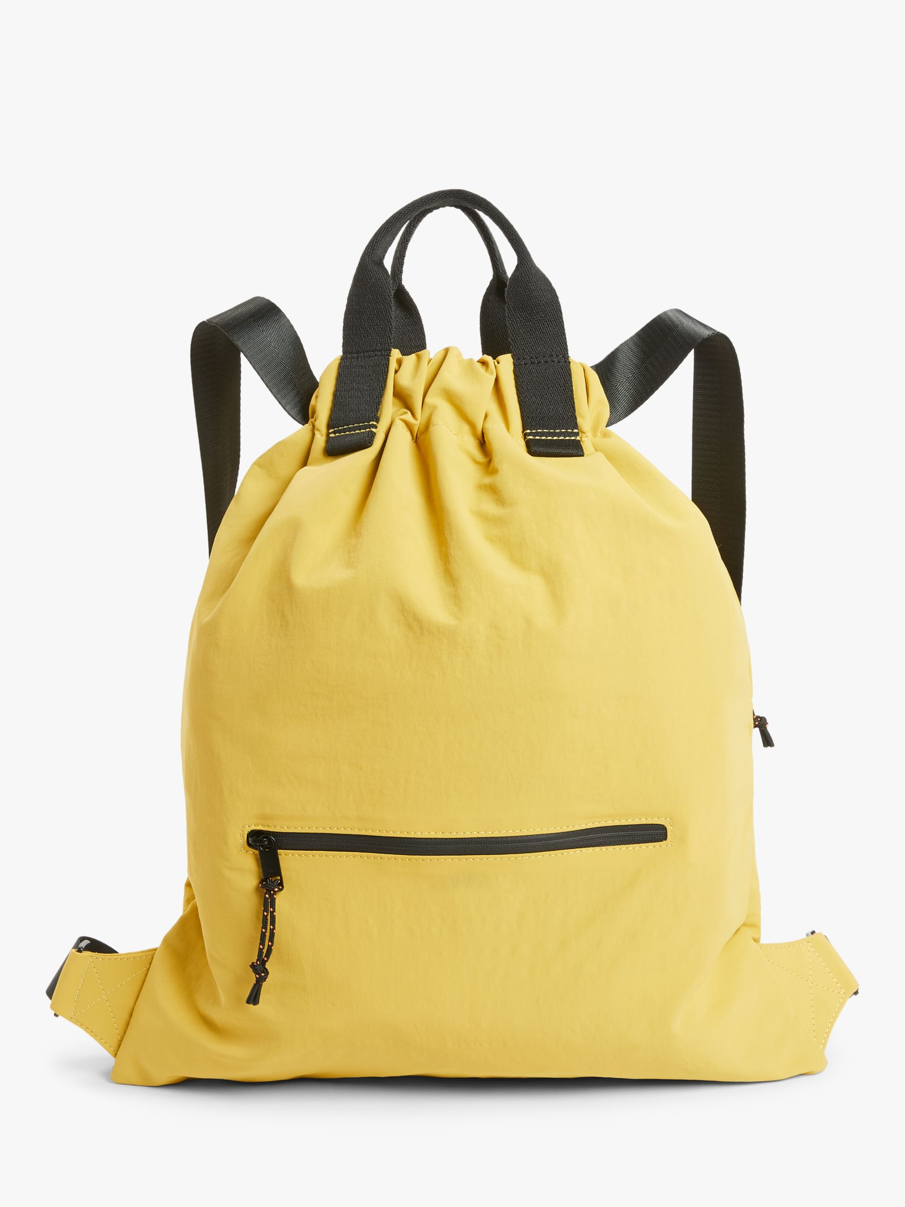 Kin Kin Nylon Drawstring Backpack