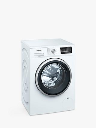 Siemens iQ500 WM14T488GB Freestanding Washing Machine, 8kg, A+++ Energy Rating, White