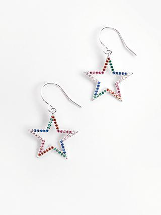 hush Alta Star Drop Earrings, Multi