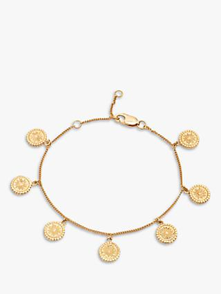 Rachel Jackson London Coin Chain Bracelet