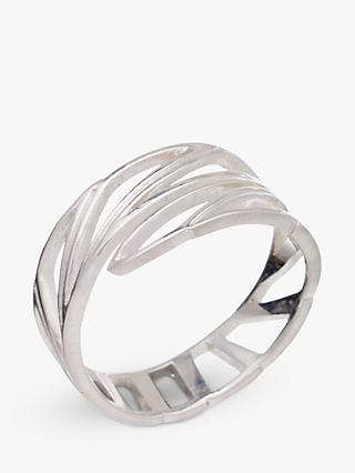 Rachel Jackson Wings of Freedom Ring, Silver
