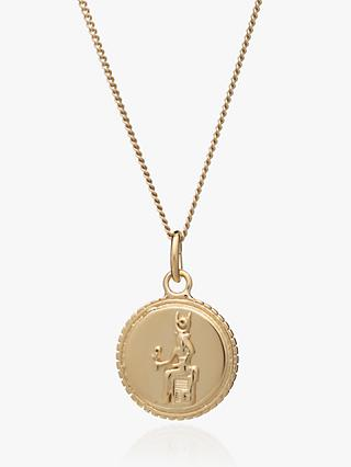Rachel Jackson London Lucky Charm Coin Chain Necklace