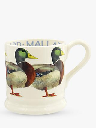 Emma Bridgewater Mallard Duck Half Pint Mug, 280ml, Green/Multi