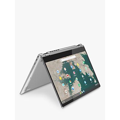 Image of Lenovo Chromebook C340-15 81T90009UK Convertible Laptop, Intel Pentium Gold, 4G RAM, 32GB eMMC, 15.6, Mineral Grey