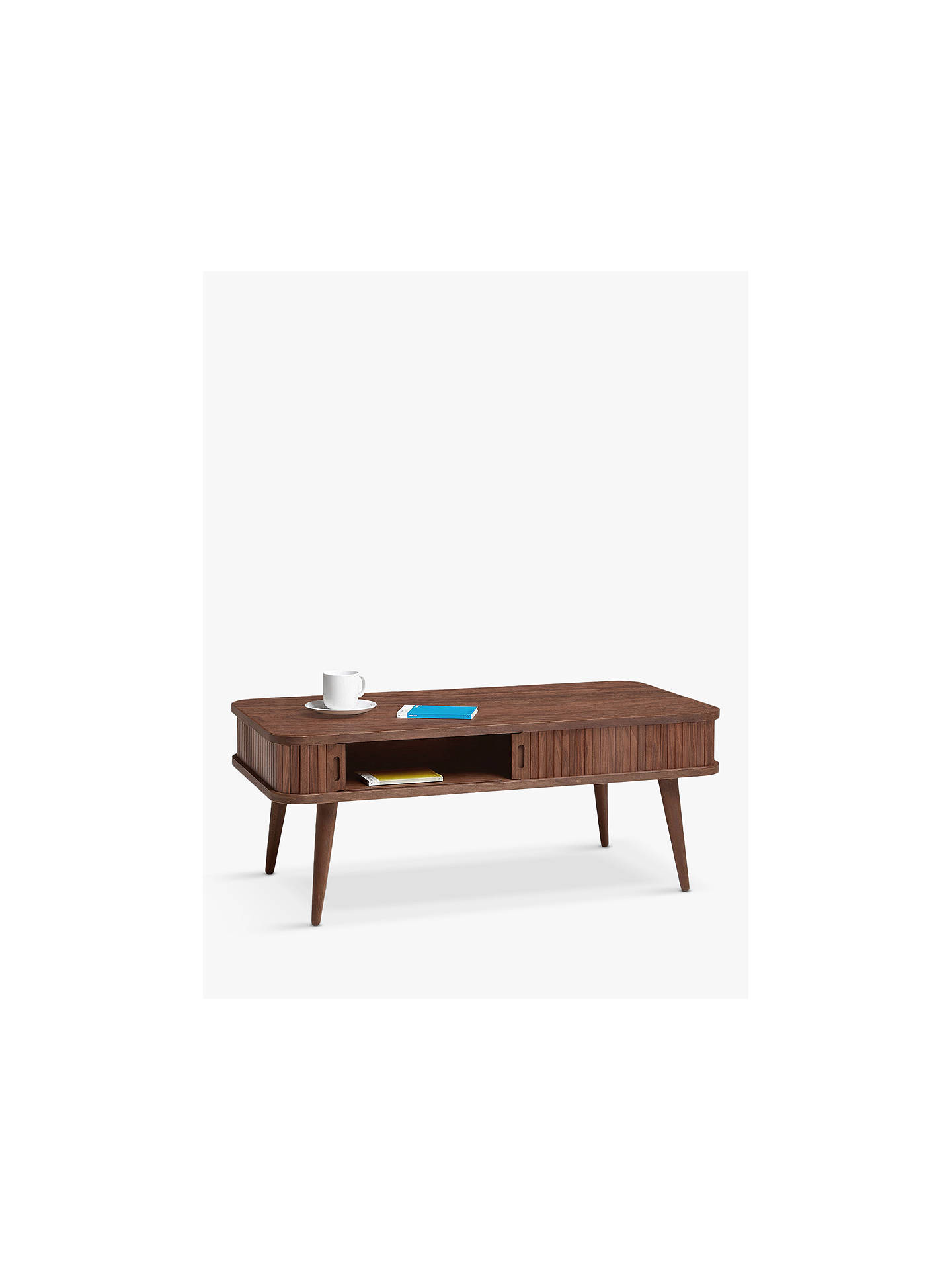 Buy John Lewis & Partners Grayson Storage Coffee Table, Dark Online at johnlewis.com
