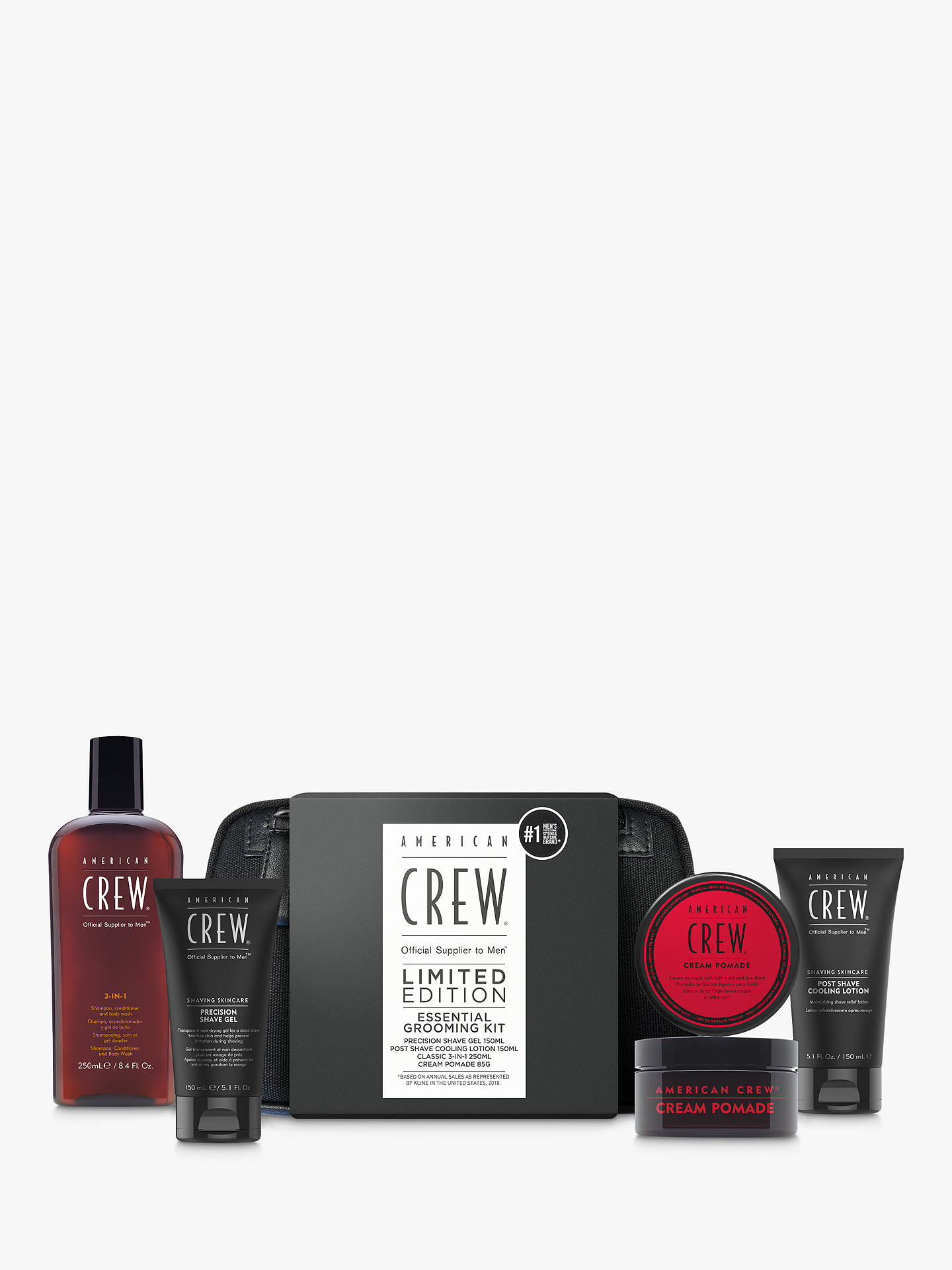 Buy American Crew Grooming Kit Wash Bag Online at johnlewis.com
