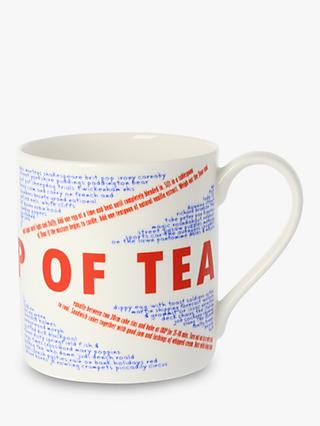 McLaggan Smith Union Jack 'Nice Cup Of Tea Mug', 350ml, Multi