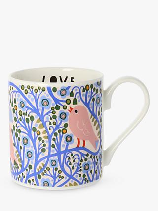 Monika Forsberg Morning Light Mug, 300ml, Blue/Multi