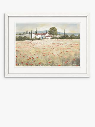 Anthony Waller - Provencal Morning Framed Print, 30 x 40cm, Green/Multi
