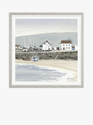 Anthony Waller - White Wash Bay Framed Print, 37 x 37cm, Blue/Multi