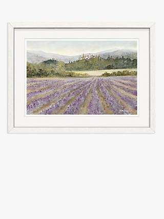 Anthony Waller - Hillside Villa Framed Print, 30 x 40cm, Purple/Multi