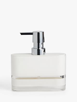 ANYDAY John Lewis & Partners Block Stripe Soap Dispenser