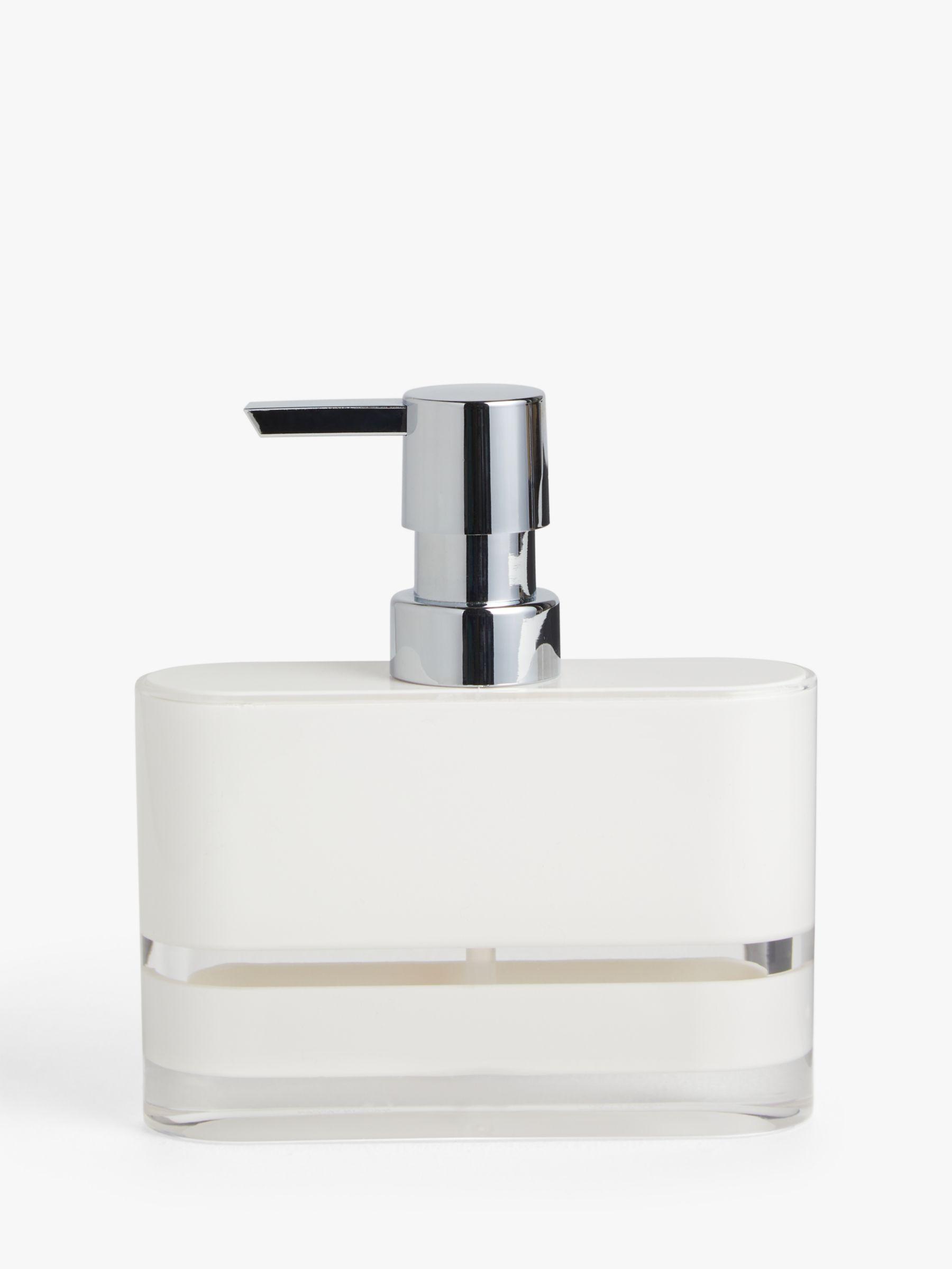ANYDAY John Lewis & Partners Block Stripe Soap Dispenser