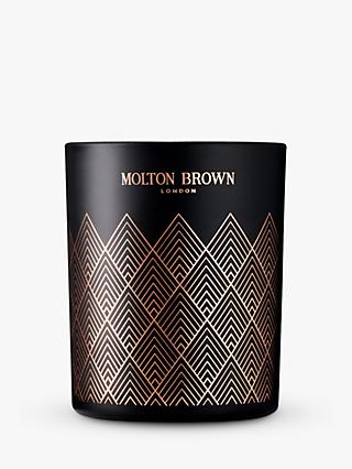 Molton Brown Bizarre Brandy Single Wick Candle, 180g