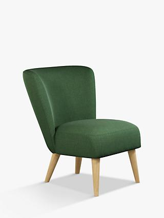 Audrey Range, House by John Lewis Audrey Accent Chair, Light Leg, Windsor Verde Green