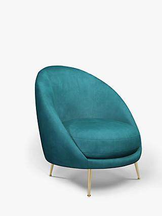 John Lewis & Partners Arch Armchair, Light Leg