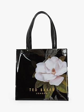 Ted Baker Gimacon Floral Small Shopper Bag, Black