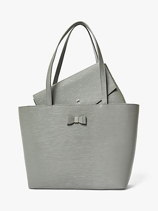 Ted Baker Deannah Textured Leather Tote Bag