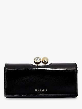 Ted Baker Elador Matinee Leather Purse, Black