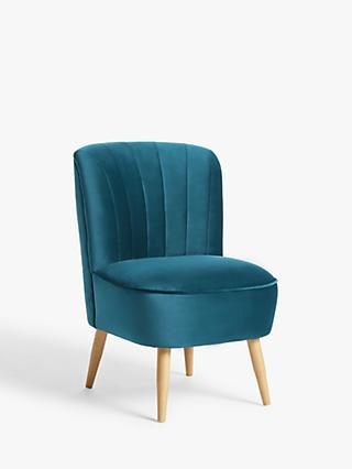 John Lewis & Partners Fluted Armchair, Light Leg