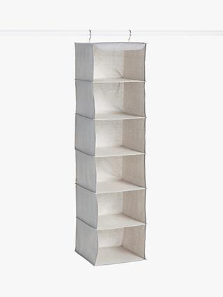 ANYDAY John Lewis & Partners 6 Hanging Shelves