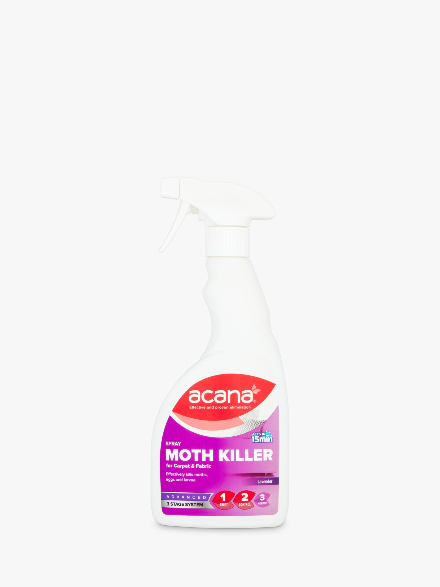 Acana Acana Fabric Moth Killer / Freshener Spray, 500ml