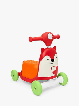 Skip Hop Zoo 3 in 1 Ride On Fox Toy
