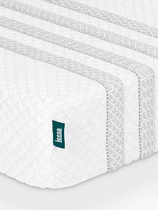 Leesa Luxury Hybrid Pocket Spring Mattress, Medium Tension, Super King Size